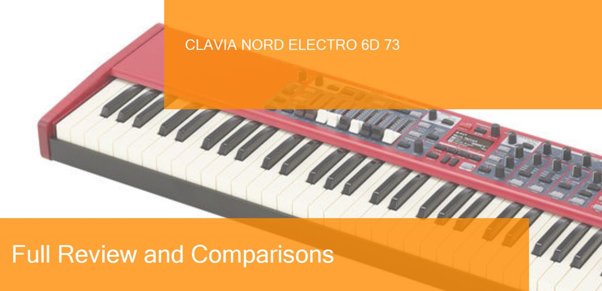 Digital Piano Clavia Nord Electro 6D 73 Full Review  Is it a