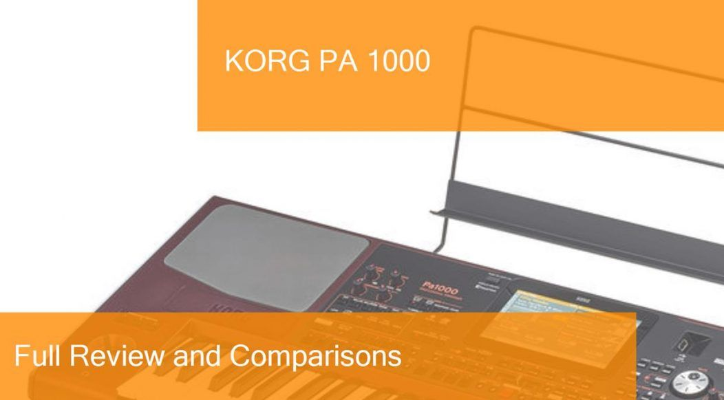 Digital Piano Korg PA 1000 Full Review  Is it a good choice?