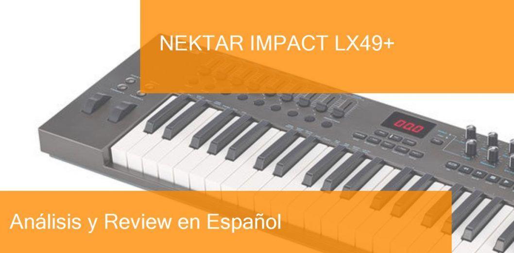 Nektar Impact LX49 USB MIDI Controller Keyboard With Bitwig 8 Track Software