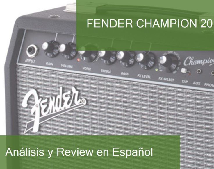 review fender-champion-20