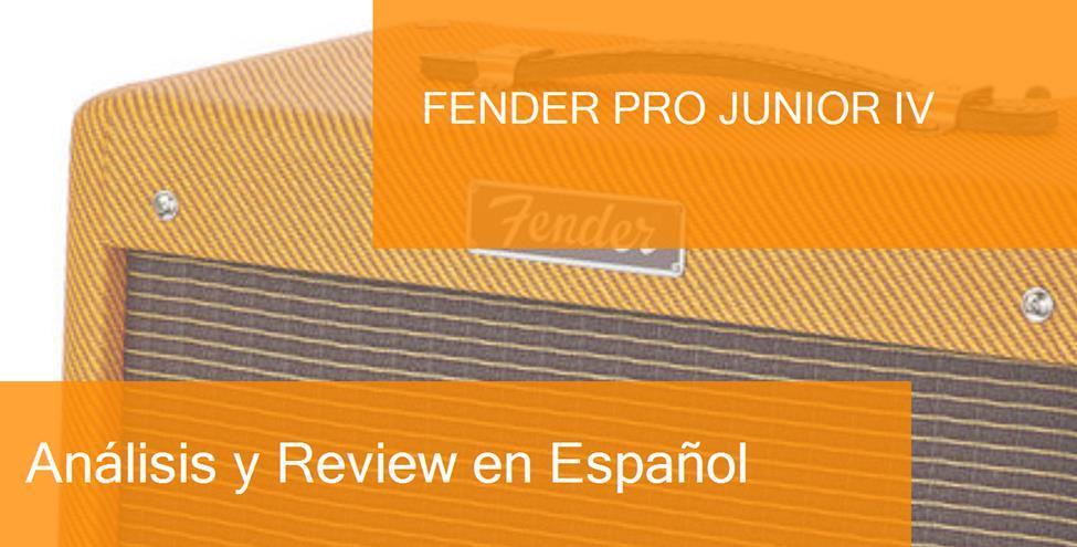 review fender-pro-junior-iv