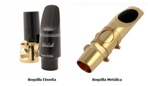 diferencia entre boquilla ebonita y metalica