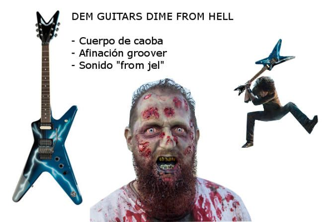 guitarra antizombies