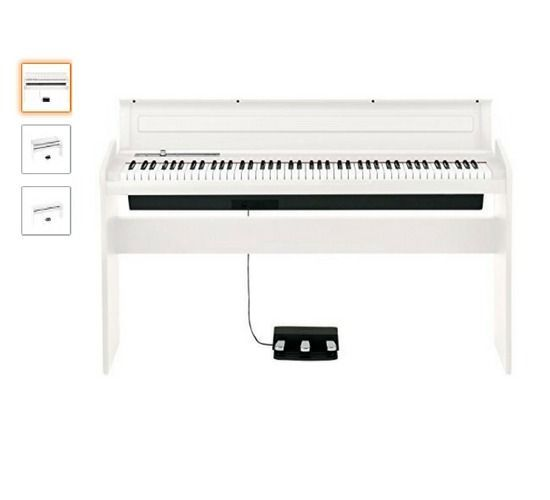 Korg LP180 BK Piano Vertical digital blanco