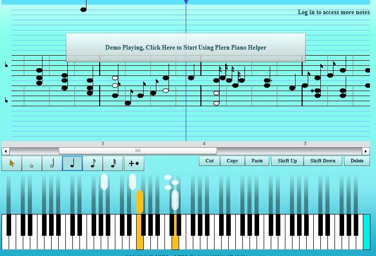 web Plernpiano.com para aprender piano online