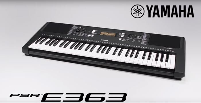 An lisis y opini n del yamaha psr e363 d nde comprarlo for Yamaha psr e363