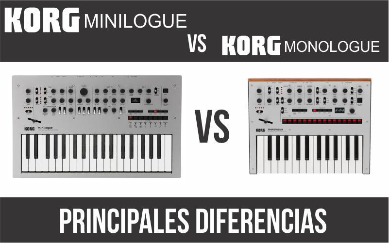 Korg Miniligue vs Korg Monologue