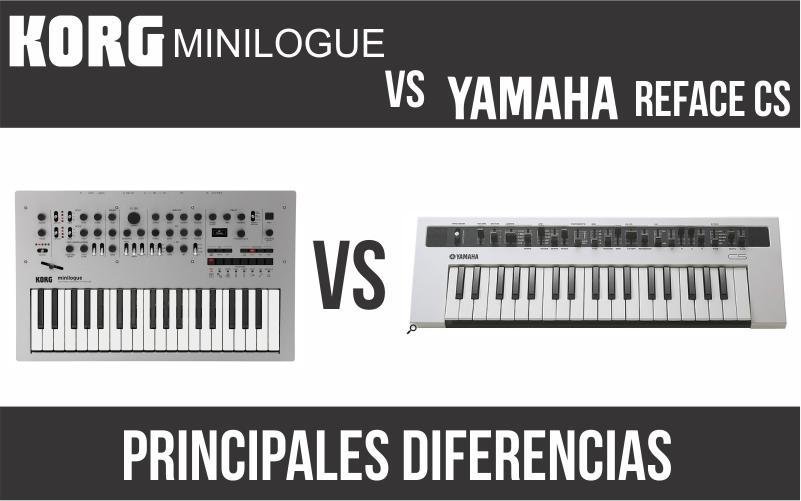 Korg Minilogue vs Yamaha Reface CS