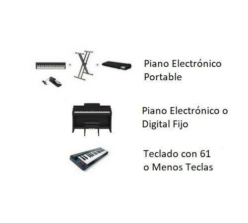 diferencia-teclado-y-piano-electronico