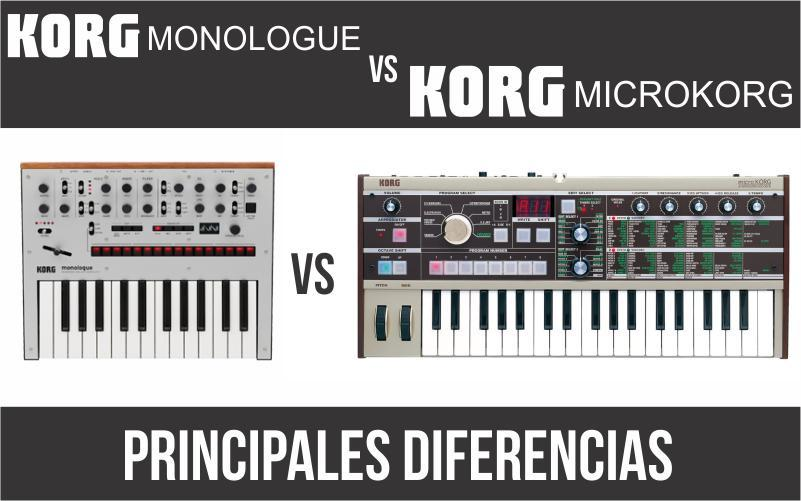 Korg Monologue vs Korg MicroKorg