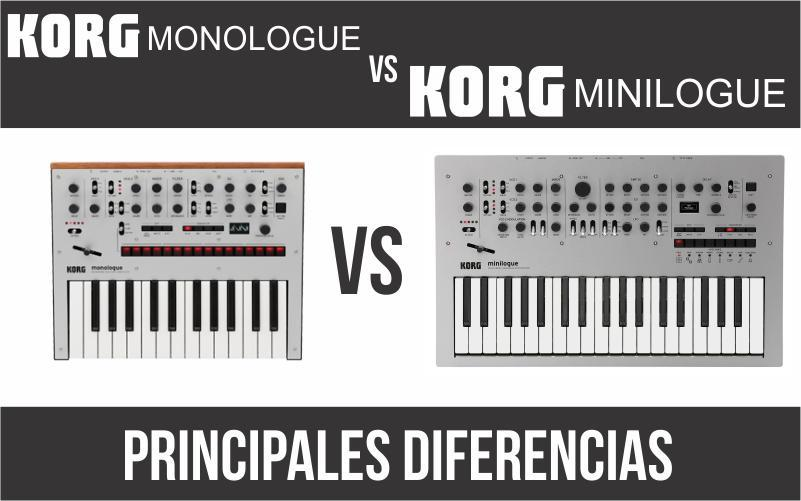 Korg Monologue vs. Korg Minilogue