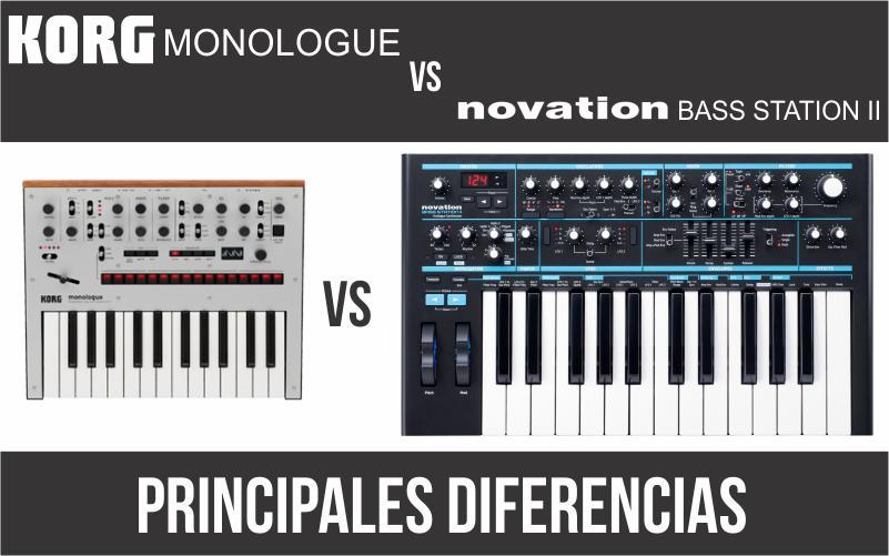 Korg Monologue vs Novation Bass Station II