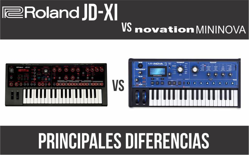 Roland JD-Xi vs Novation Mininova
