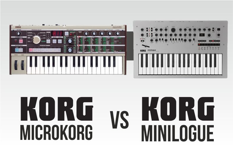 Korg Microkorg vs Korg Minilogue