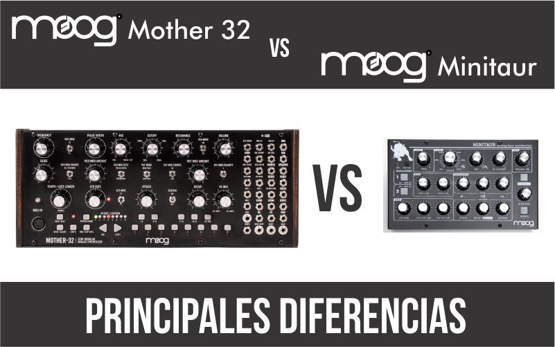 Moog Mother 32 vs Minitaur