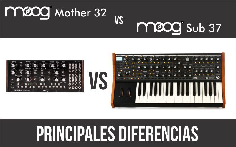 Moog Mother 32 vs Moog Sub 37