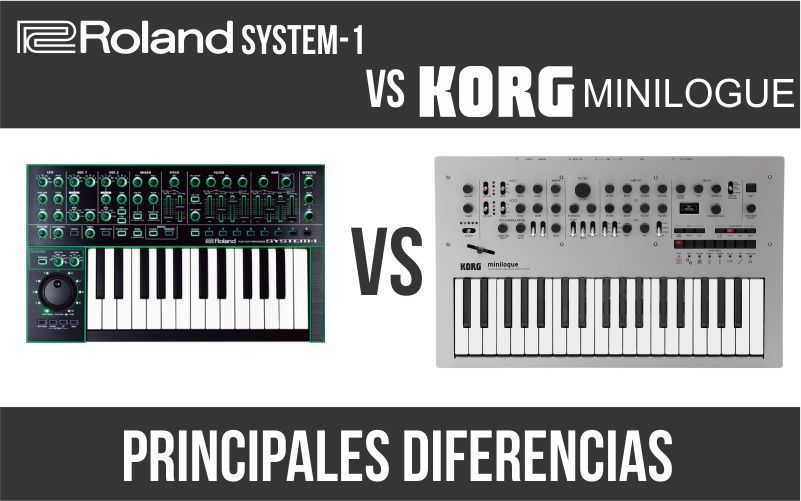 Roland System-1 vs Korg Minilogue