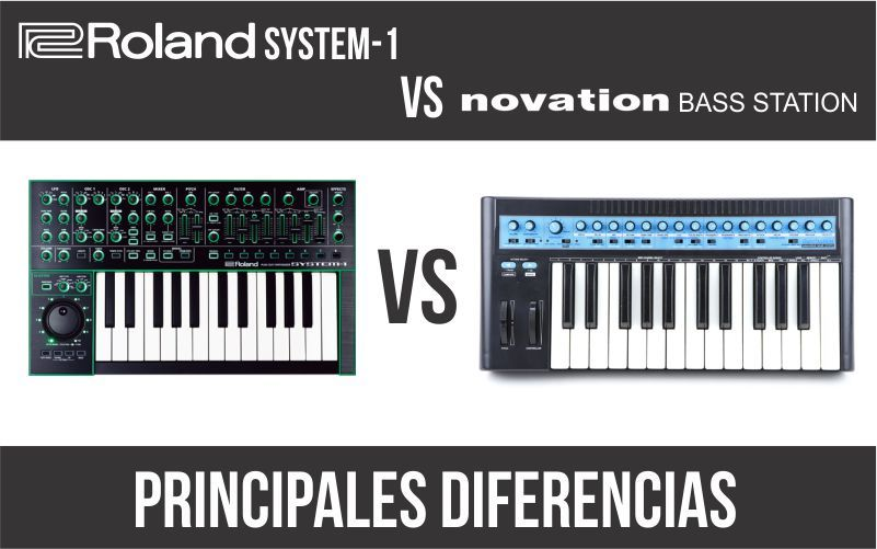 Roland System-1 vs Novation Bass Station