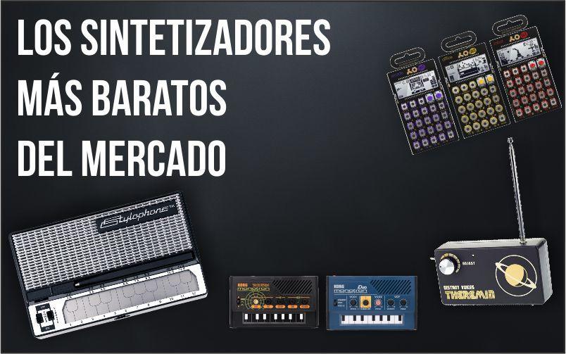 Los sintetizadores más baratos del mercado