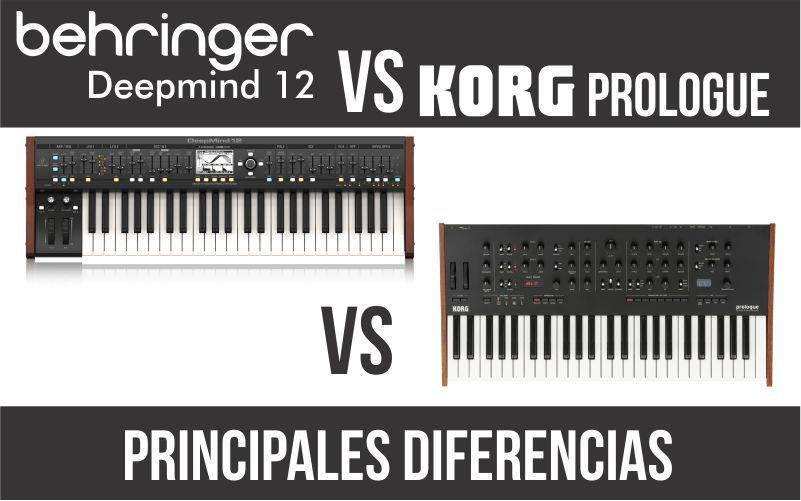 Behringer Deepmind 12 vs Korg Prologue