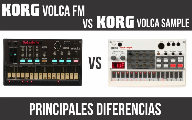 Korg Volca FM vs Korg Volca Sample