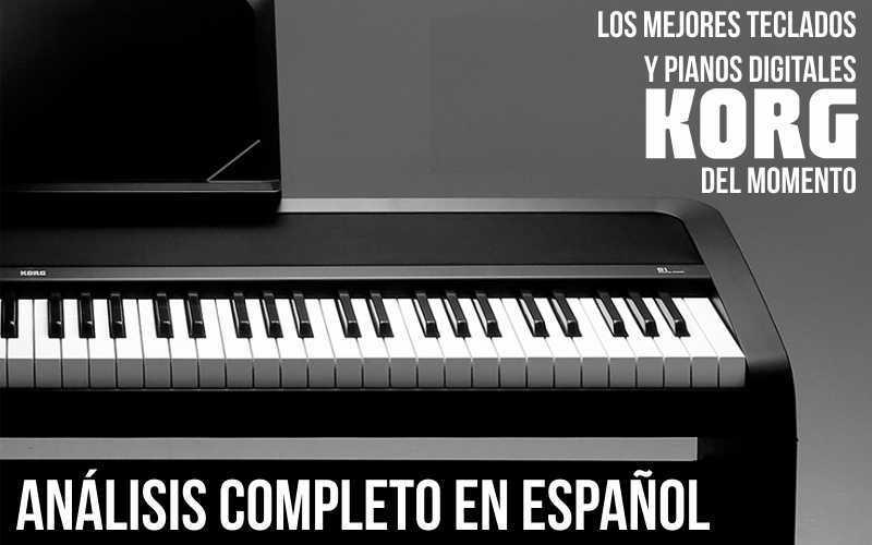 Los mejores teclados y pianos Korg del momento