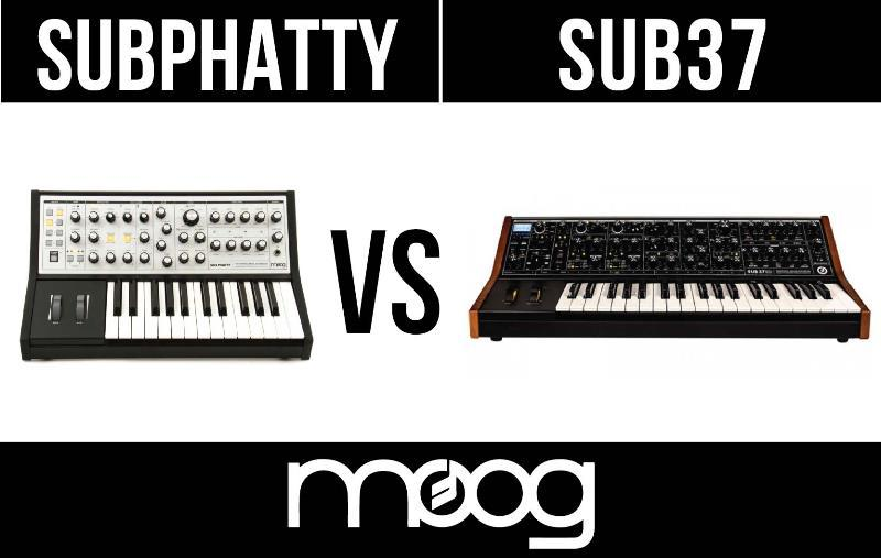 Moog Sub Phatty vs Moog Sub 37