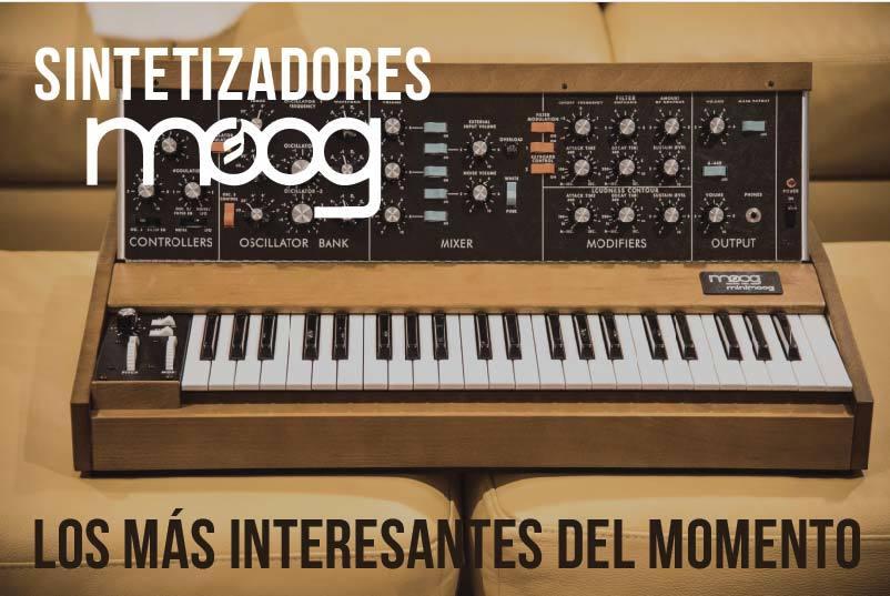 Sintetizadores Moog más interesantes del momento