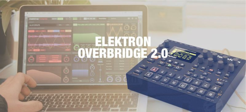 El software Overbridge para programar el Elektron Digitakt