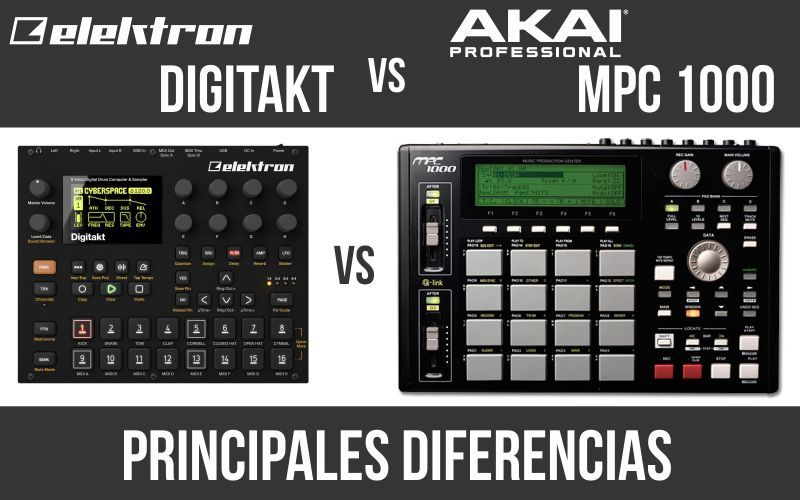 Elektron Digitakt vs Akai MPC 1000
