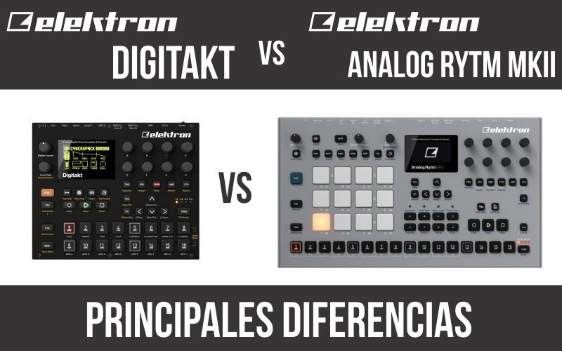 Elektron Digitakt vs Elektron Analog Rytm MKII