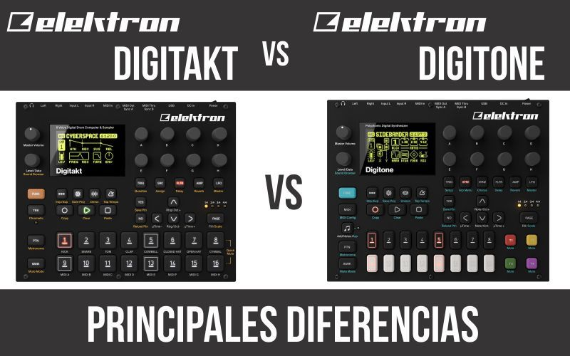 Elektron Digitakt vs Elektron Digitone