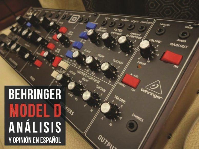 Análisis y opinión Behringer Model D: Dónde Comprarlo