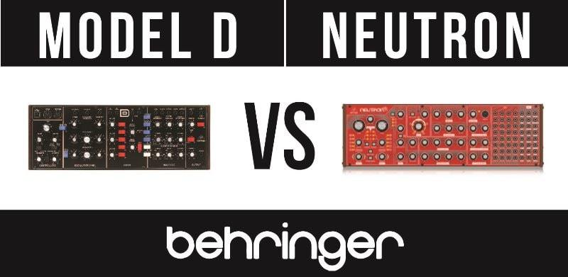 Behringer Model D vs Behringer Neutron