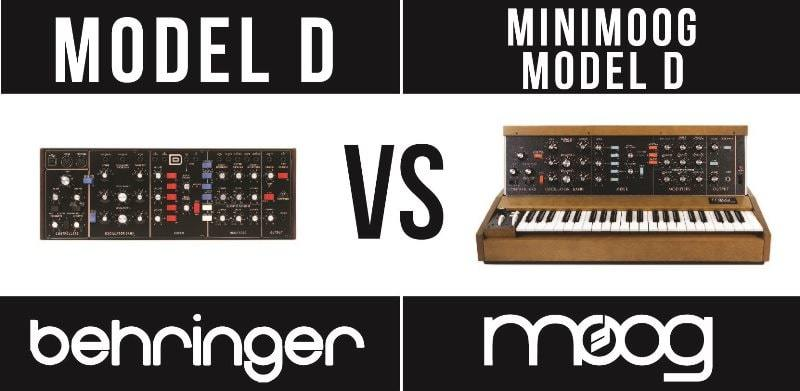 Behringer Model D vs Minimoog Model D