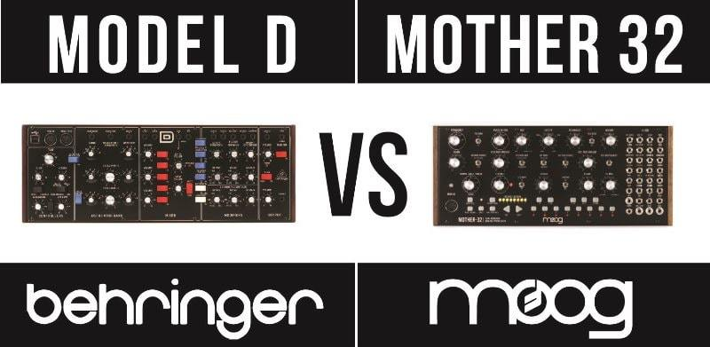 Behringer Model D vs Moog Mother 32
