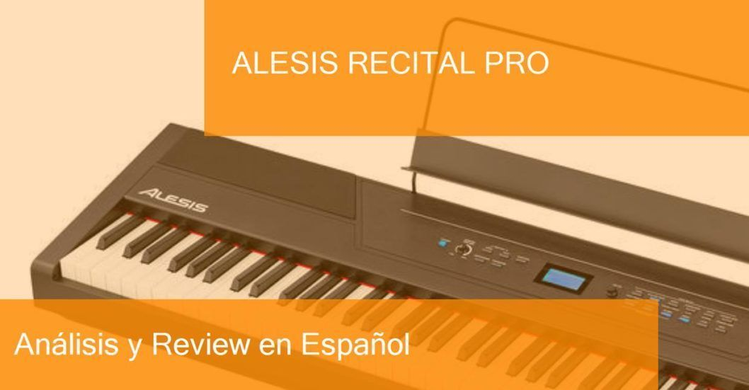 review demo alesis-recital-pro