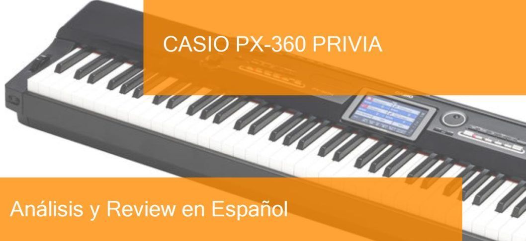 demo review casio-px-360-privia