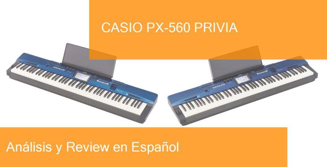 demo test review casio-px-560-privia