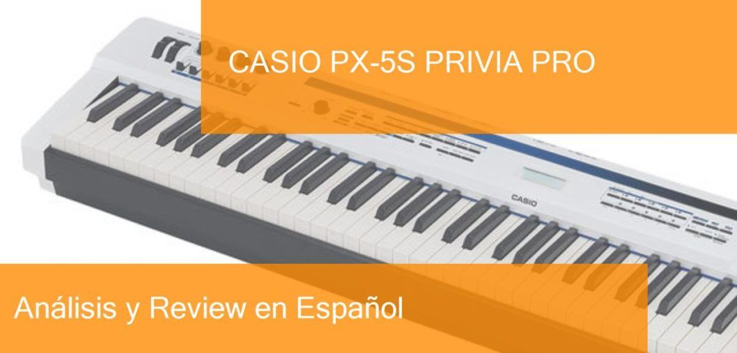 demo review casio-px-5s-privia-pro