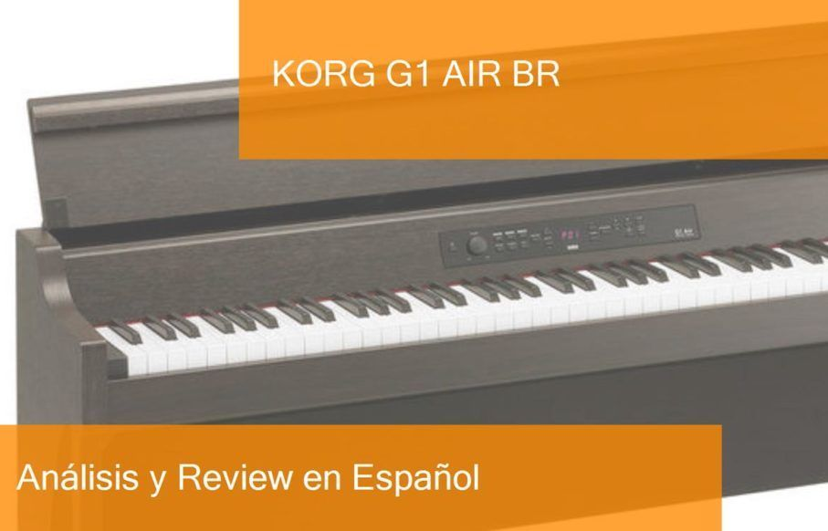 demo review test middle-korg-g1-air