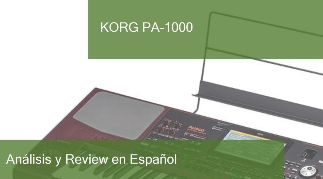 review korg-pa-1000