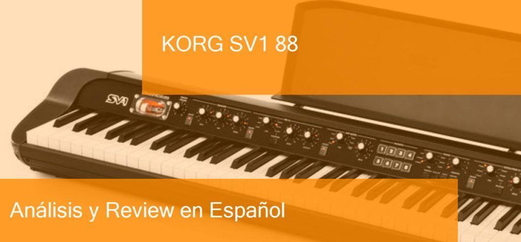 demo preview korg-sv1-88