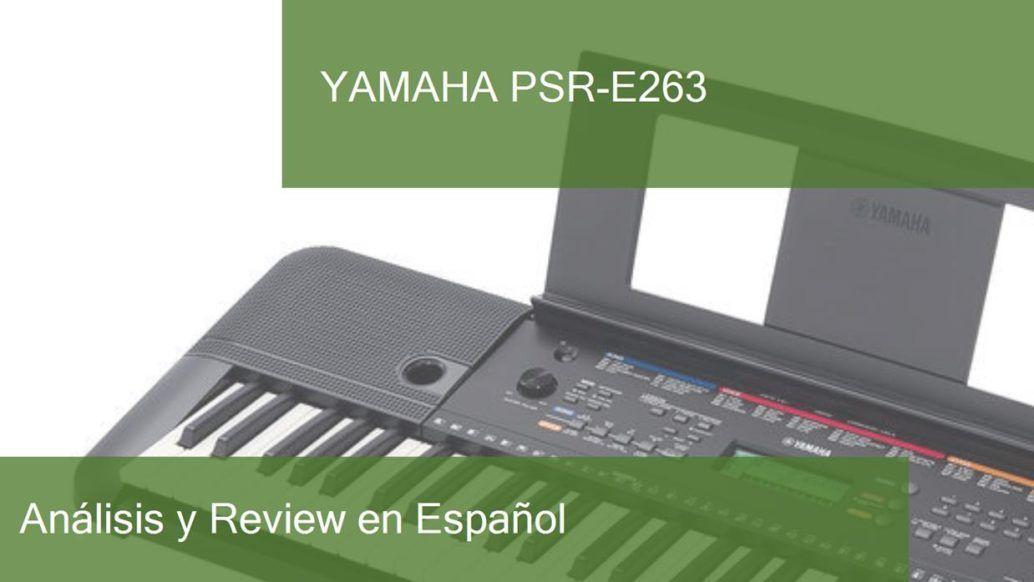 review yamaha-psr-e263