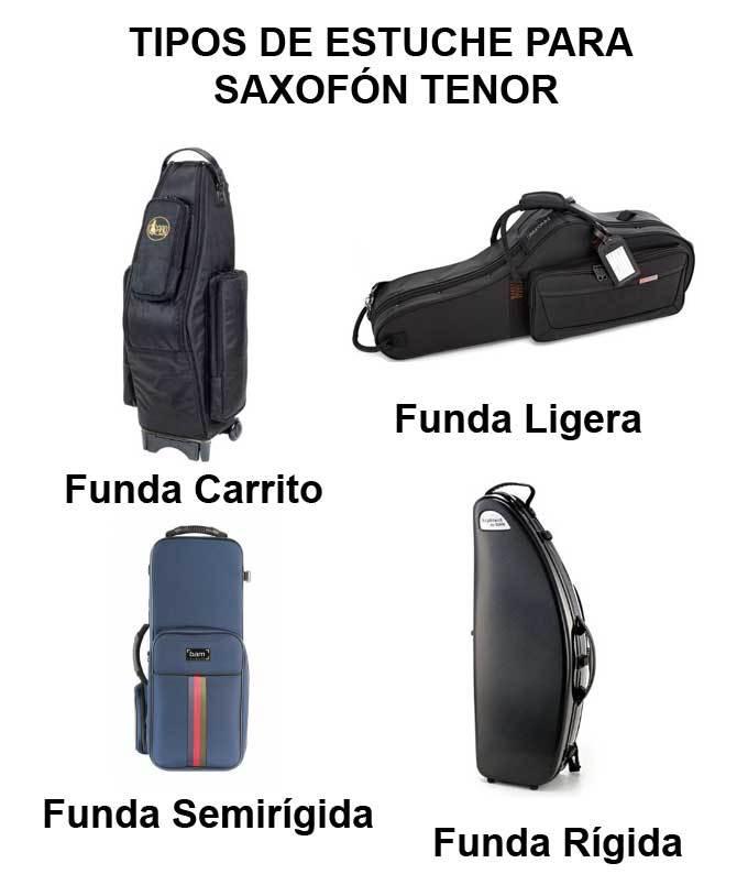 tipos de funda para saxo tenor