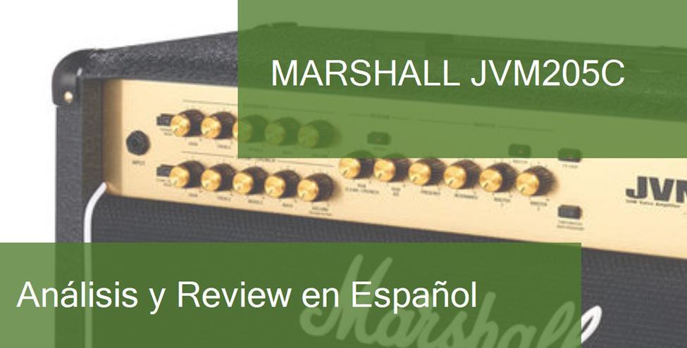 Review y Opinión del Marshall JVM205C y Dónde Comprarlo