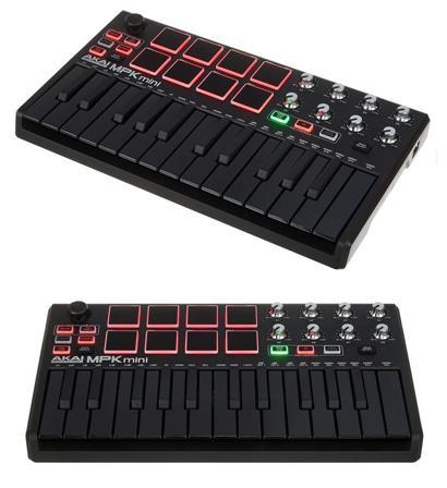 review akai-mpk-mini-limited-black