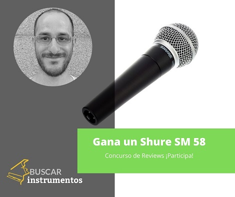 Concurso de reviews de pianos, gana un shure sm 58