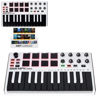 review akai-mpk-mini-mk2-white-aiep3-bdl