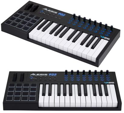review alesis-vi25